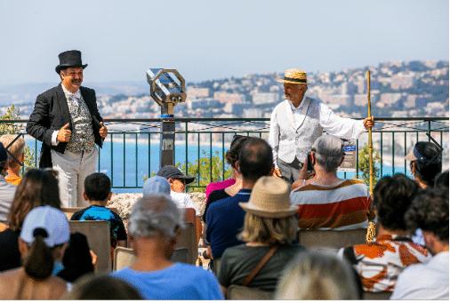 Event insolite le coup de canon Nice