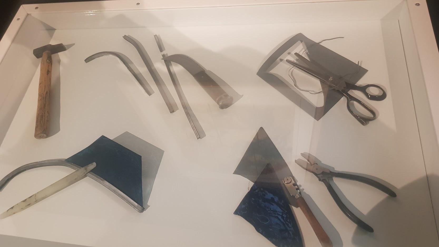 Fabricatin du vitrail