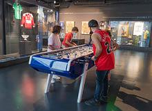 affronter les euipe jeu au musée du sport